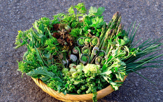 mountain vegetables